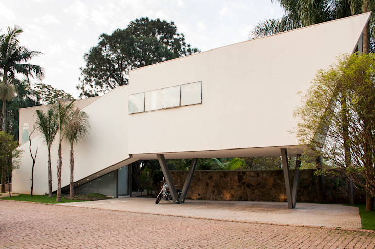 Houses by SAA_SHIEH ARQUITETOS ASSOCIADOS, Modern
