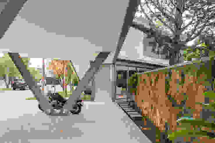 Casas modernas de SAA_SHIEH ARQUITETOS ASSOCIADOS Moderno