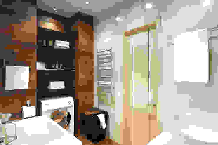 Minimalist style bathroom by Творческая мастерская дизайна интерьера Анны Першаковой Minimalist