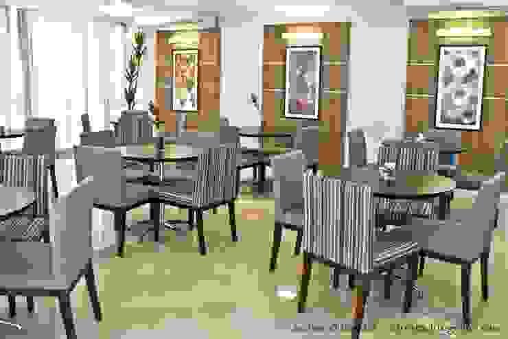 Projeto arquitetonico de área interna comum do Green Village Residence Salas de jantar ecléticas por ArchDesign STUDIO Eclético