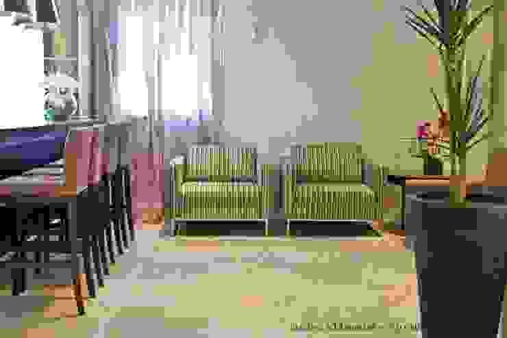 Projeto arquitetonico de área interna comum do Green Village Residence Salas de estar ecléticas por ArchDesign STUDIO Eclético