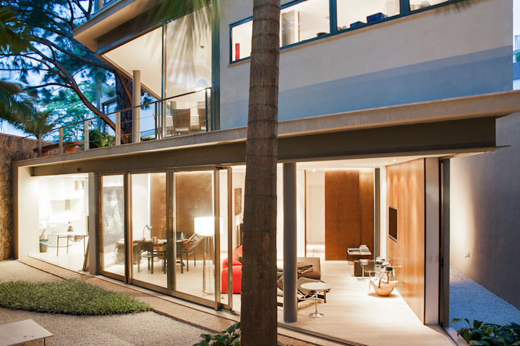 Casa Offset Casas modernas por SAA_SHIEH ARQUITETOS ASSOCIADOS Moderno