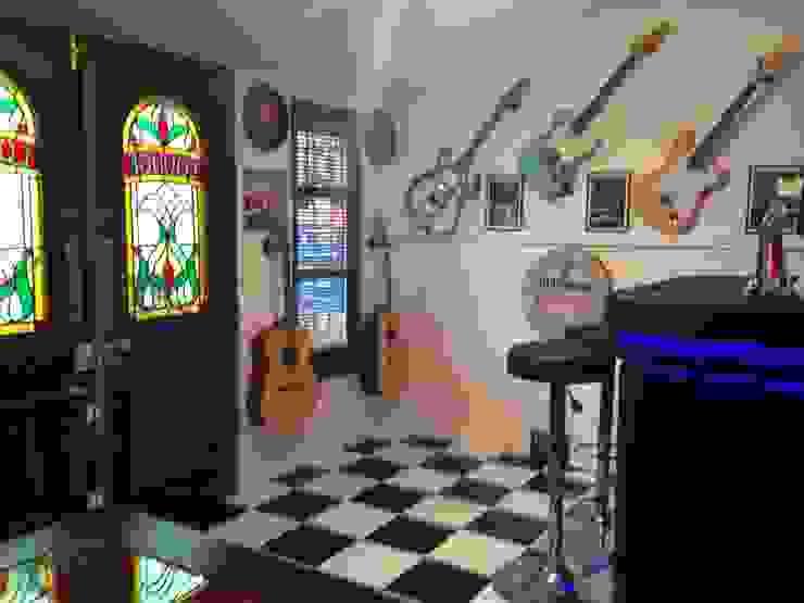 Inside the man cave Modern Home Wine Cellar by shaun.roper Modern