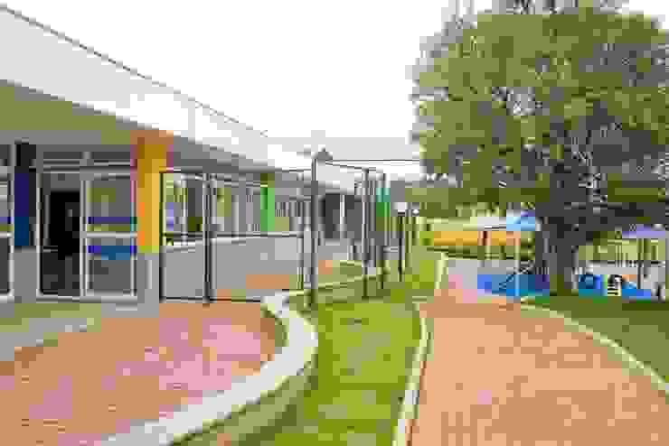 Escola Infantil Salesiano Piracicaba Escolas modernas por SAA_SHIEH ARQUITETOS ASSOCIADOS Moderno