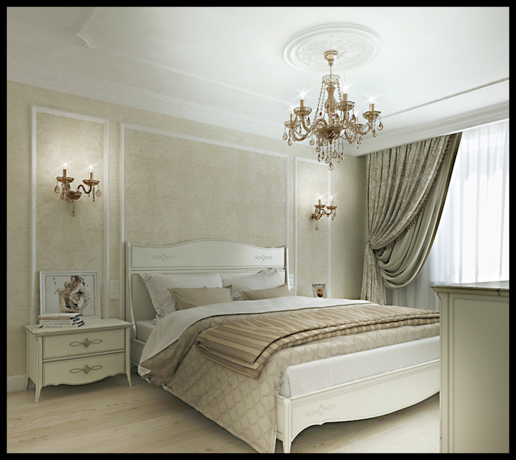 Classic style bedroom by Defacto studio Classic