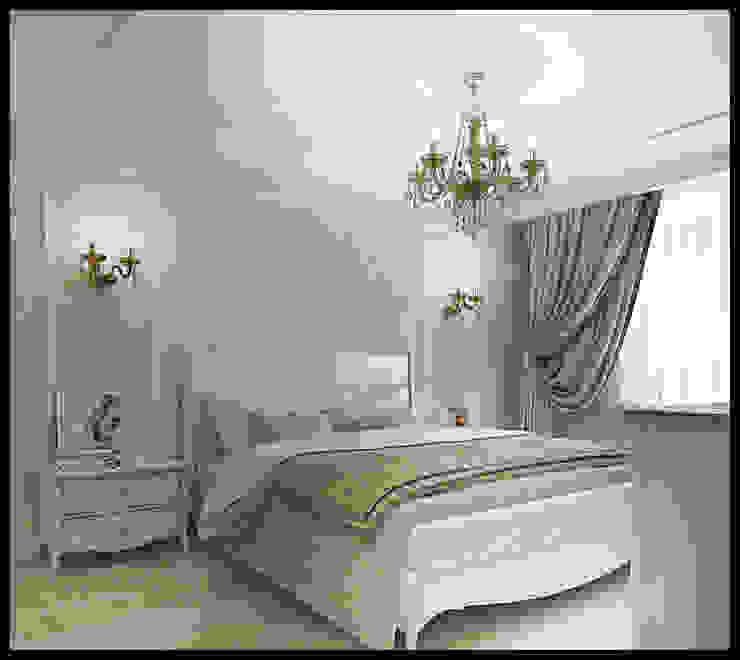 Спальня. Вид 1: Спальни в . Автор – Defacto studio, Классический