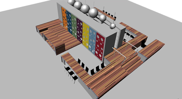 Ontdekruimte Basisschool ontwerp van Leonardus interieurarchitect