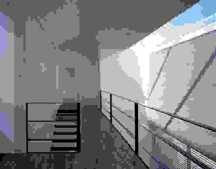 Wohnhaus H Moderner Flur, Diele & Treppenhaus von Matthias Maurer Architekten Modern