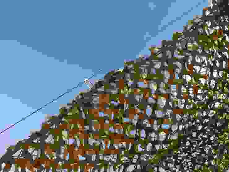 particolare rete ombreggiante scorrevole su cavi d'acciaio GARDENStudio 'il giardiniere goloso'