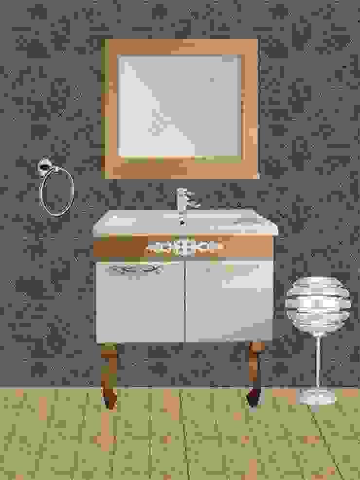 banyo dolabı GOLD SERİ ALFA &BANYO Rustik