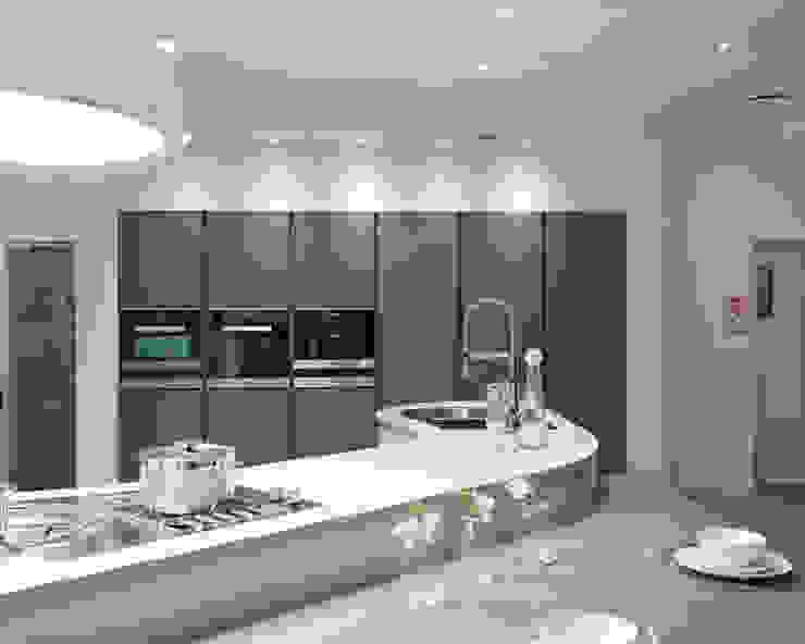 Urban Myth Showroom Modern kitchen by Urban Myth Modern