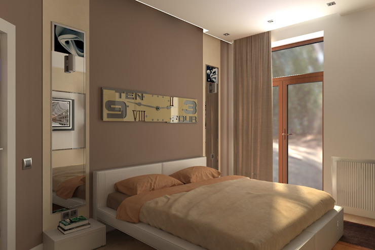 Квартира Спальня в стиле модерн от Victory Design Модерн
