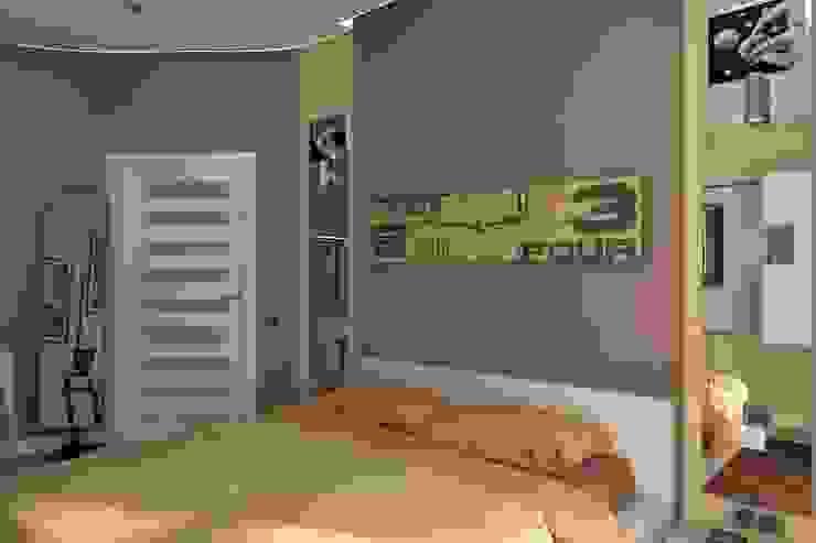 Квартира Victory Design Спальня в стиле модерн