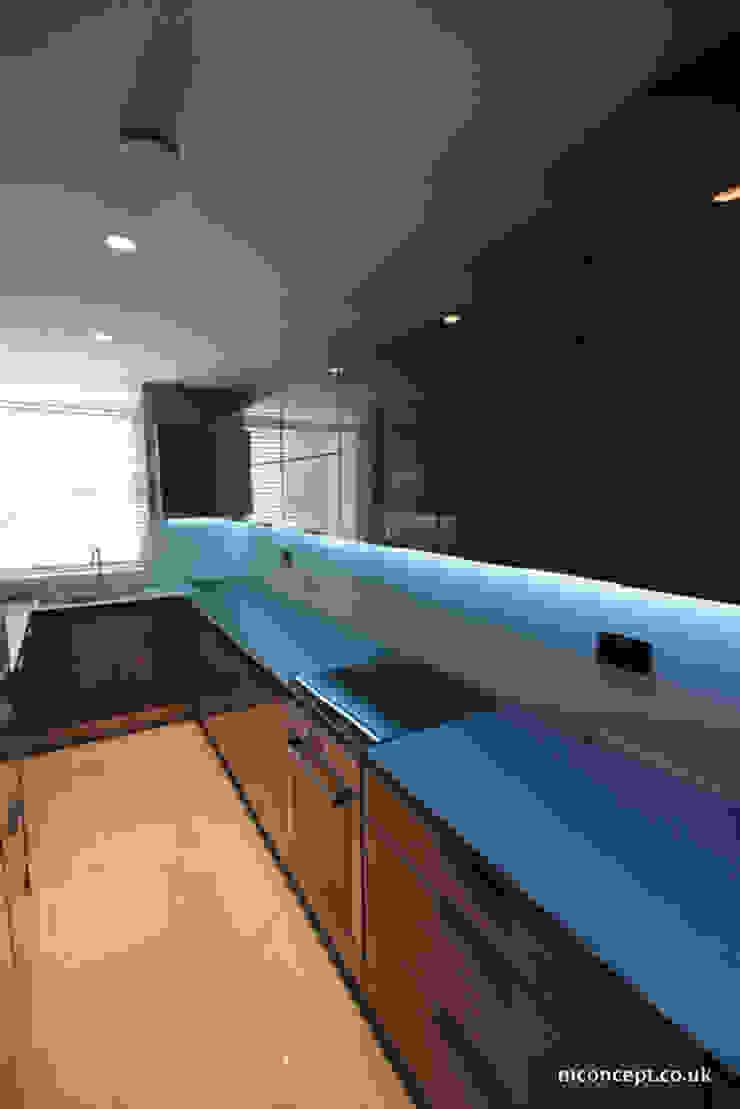 Complete modernisation of Central London Flat Modern kitchen by Mconcept Modern