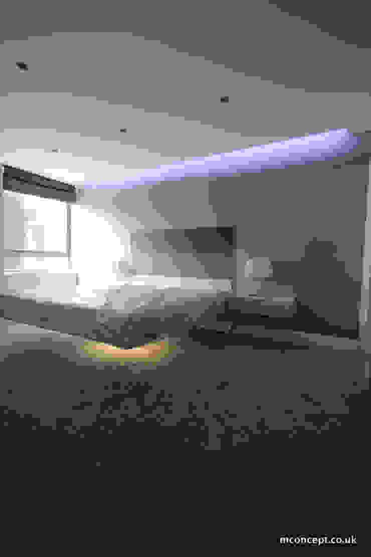 Complete modernisation of Central London Flat Modern style bedroom by Mconcept Modern