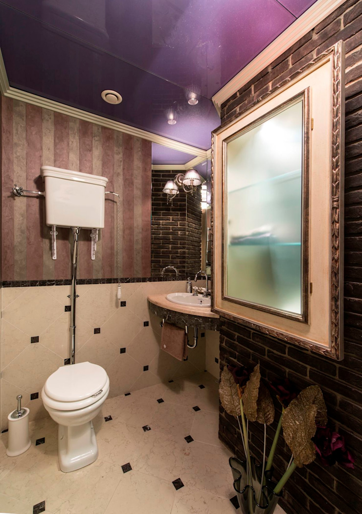 Eclectic style bathrooms by Studio B&L Eclectic