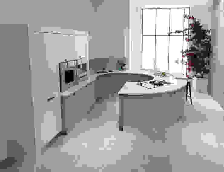 Contour Curve Kitchen Modern kitchen by Squaremelon Modern