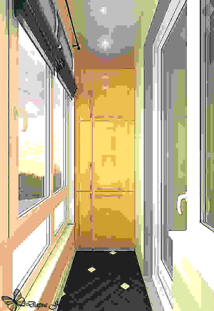 Balcones y terrazas de estilo ecléctico de Your royal design Ecléctico