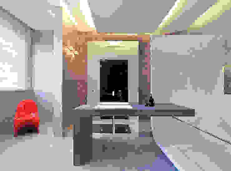 Casa Albega Bagno moderno di INO PIAZZA studio Moderno