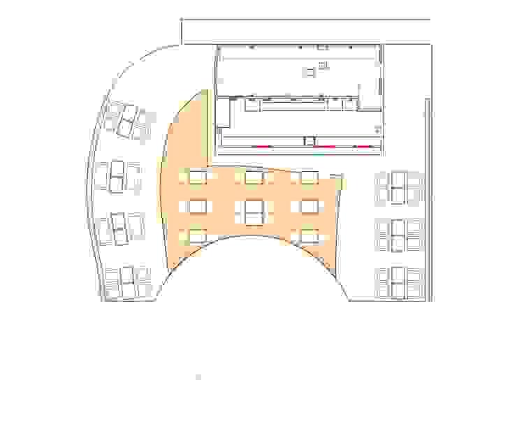 Дизайн кафе Ностальжи от Москоу Дизайн