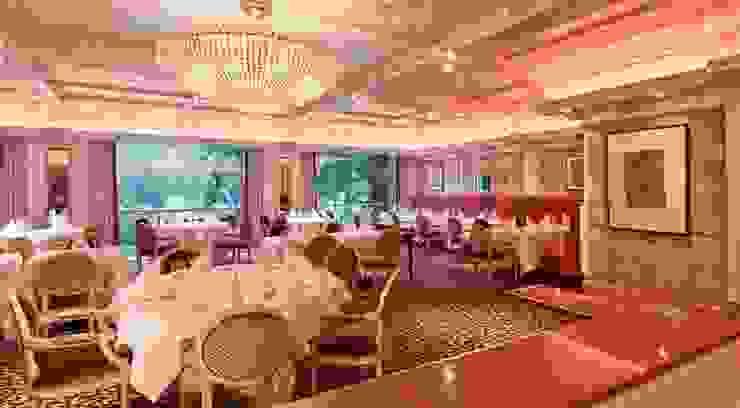 Raumkonzept für Brasserie-Style im Breidenbacher Hof, Düsseldorf Klassische Gastronomie von Dreiklang® Hotelkonzepte mit Charakter Klassisch