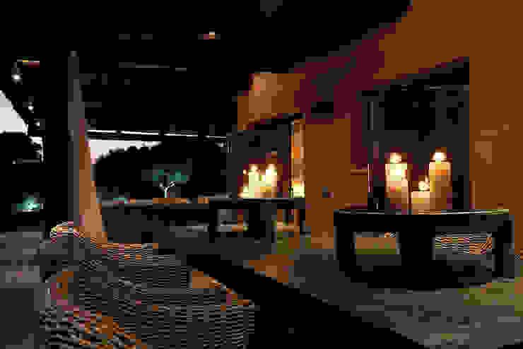 Casa Binisafúller Menorca Balcones y terrazas de estilo mediterráneo de adela cabré Mediterráneo