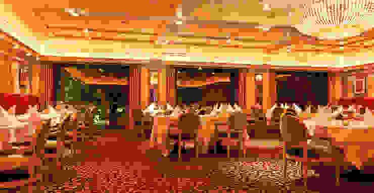 Spiegelung der Lichtszenen Klassische Gastronomie von Dreiklang® Hotelkonzepte mit Charakter Klassisch