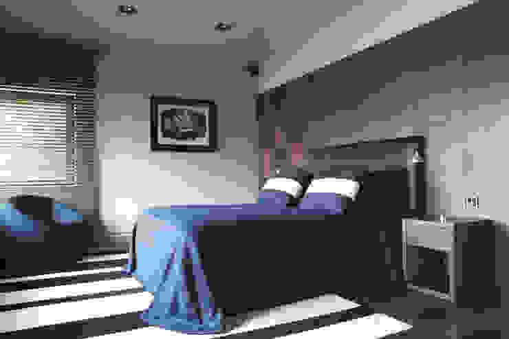 Palacete Barcelona Dormitorios de estilo clásico de adela cabré Clásico
