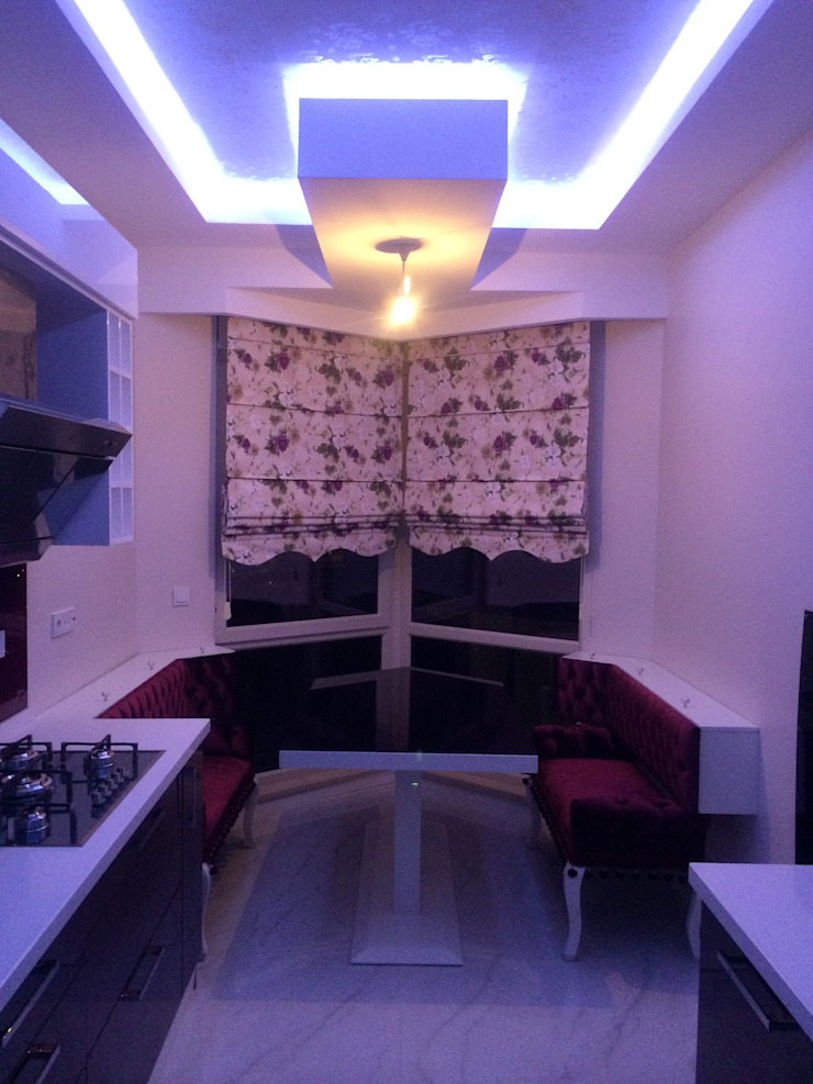 MANNA HOUSE Gizem Kesten Architecture / Mimarlik MutfakMasa & Oturma Grupları