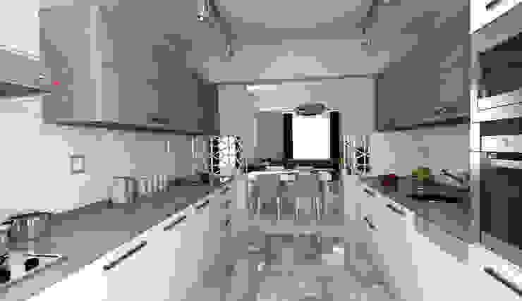 Niyazi Özçakar İç Mimarlık Modern kitchen