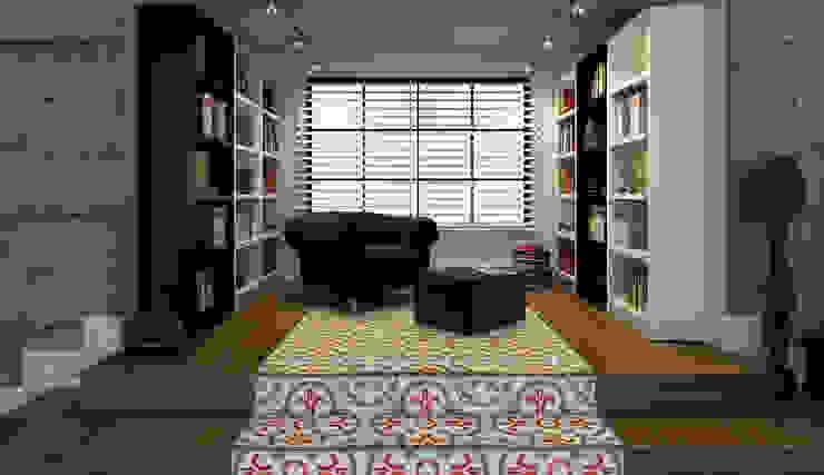 Salas / recibidores de estilo  por Niyazi Özçakar İç Mimarlık, Moderno