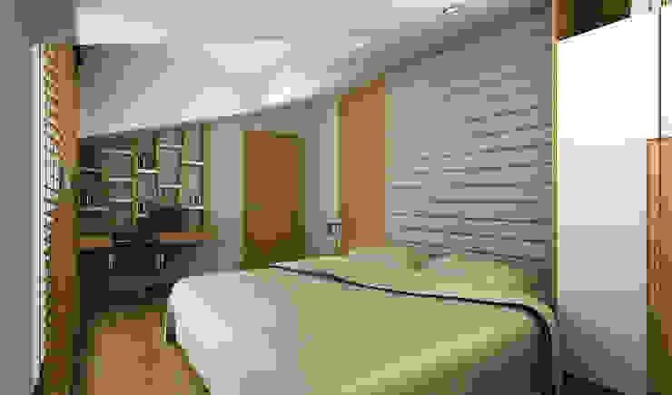 Niyazi Özçakar İç Mimarlık – H.Y. EVİ:  tarz Yatak Odası,