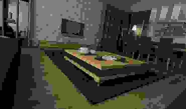 H.Y. EVİ Modern Oturma Odası Niyazi Özçakar İç Mimarlık Modern