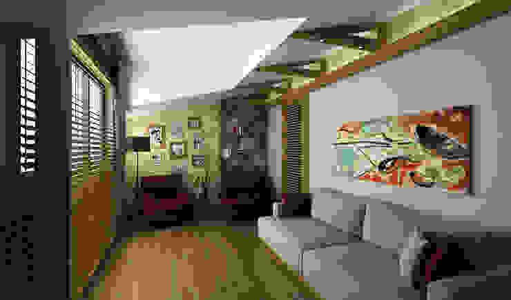 Niyazi Özçakar İç Mimarlık – H.Y. EVİ:  tarz Oturma Odası,