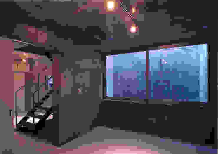 都市型貸店舗付狭小住宅 モダンスタイルの寝室 の スタジオ4設計 モダン