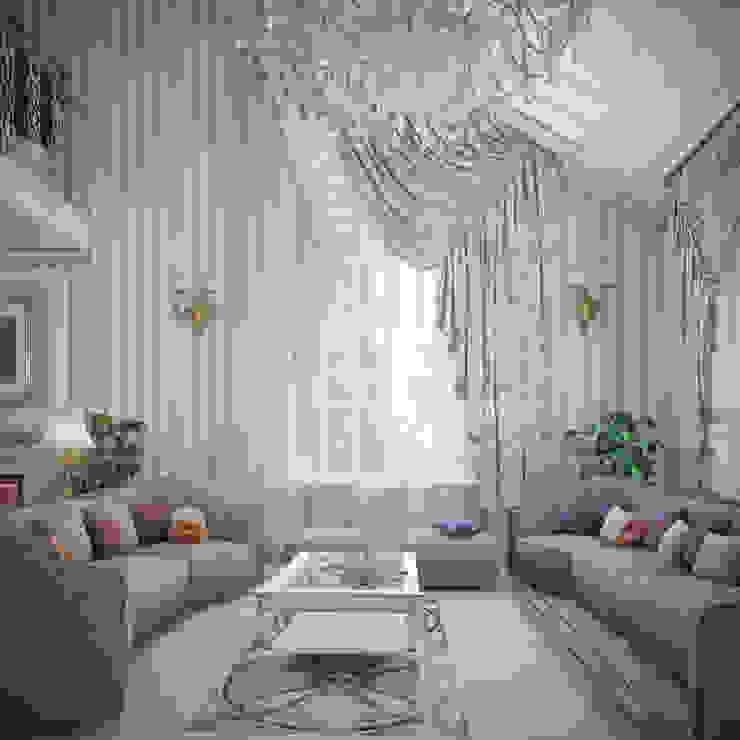 Living room by Студия Дизайна Интерьера MALGRIM, Classic