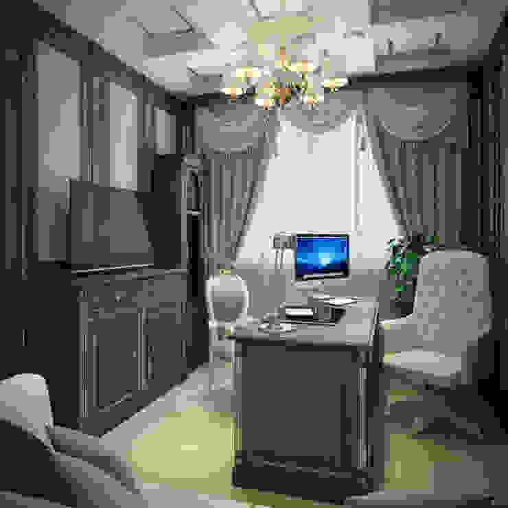 г. Минск п. Ратомка Рабочий кабинет в классическом стиле от Студия Дизайна Интерьера MALGRIM Классический