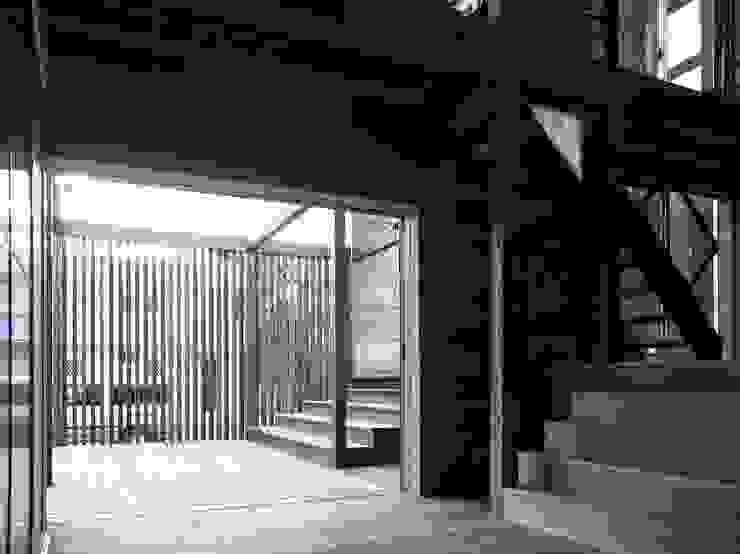 MST3-house. ラスティックデザインの ダイニング の AtelierorB ラスティック