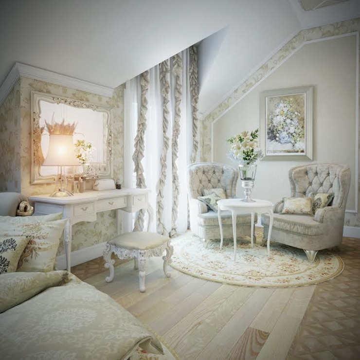 г. Минск п. Фаниполь Спальня в классическом стиле от Студия Дизайна Интерьера MALGRIM Классический