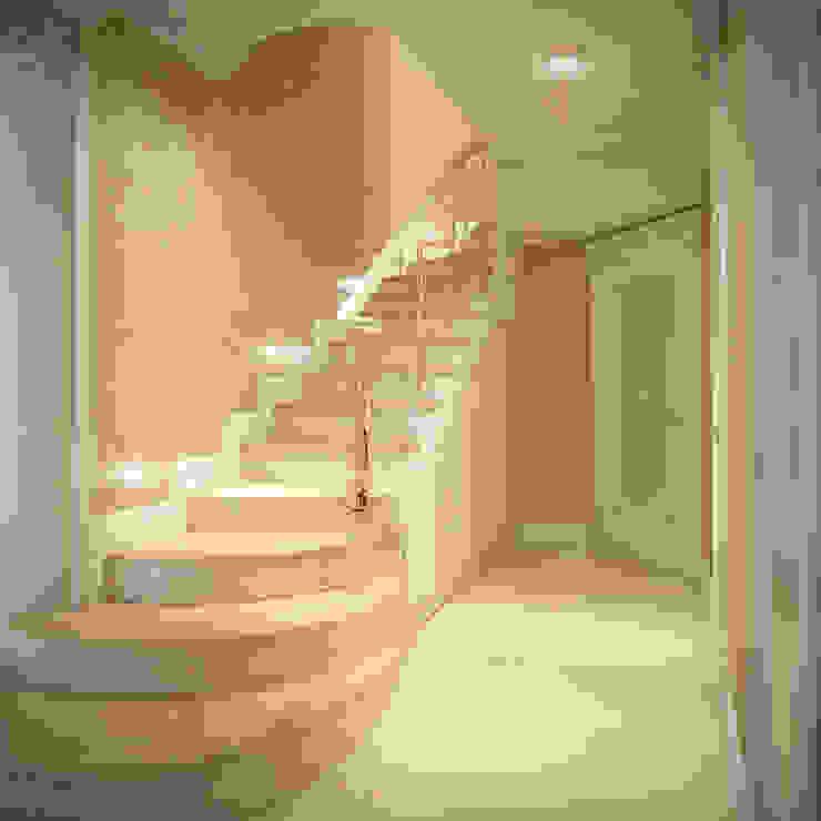г. Минск п. Фаниполь Коридор, прихожая и лестница в классическом стиле от Студия Дизайна Интерьера MALGRIM Классический