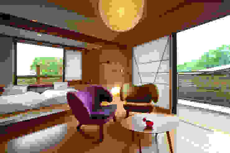 客室 花のあめ : Room HANANOAME TAKA建築設計室 オリジナルなホテル