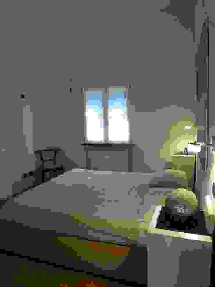 Casa degli ulivi, vivere fra terra a mare. Moneglia (Genova) Camera da letto in stile asiatico di BaBo Design - Barbara Sabrina Borello Asiatico