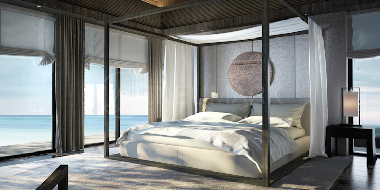 Asian style bedroom by NEUMARK Asian