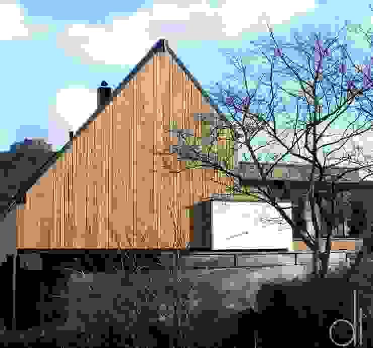 Abbruch und Neubau WOHNHAUS di architekturbüro Moderne Häuser