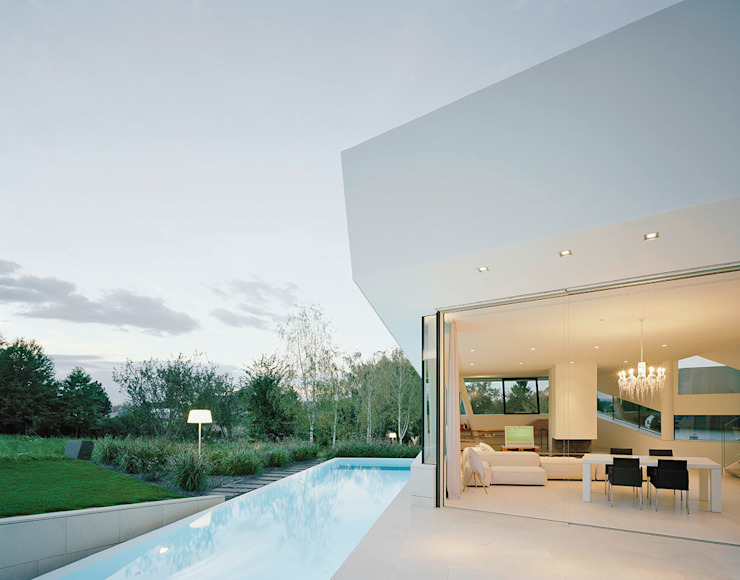 project a01 architects, ZT Gmbh Modern Pool
