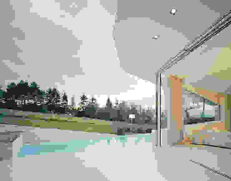 Villa Freundorf / Österreich Moderner Balkon, Veranda & Terrasse von project a01 architects, ZT Gmbh Modern