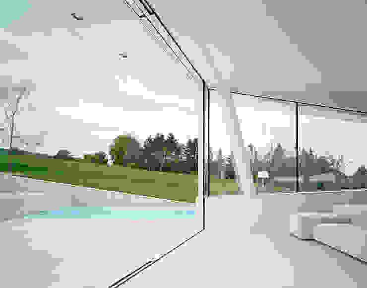 Villa Freundorf / Österreich Moderne Fenster & Türen von project a01 architects, ZT Gmbh Modern