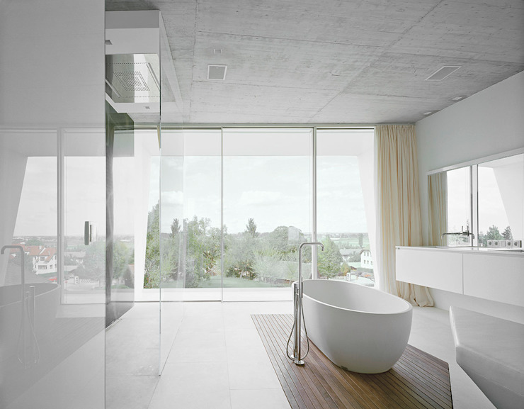 Modern Bathroom by project a01 architects, ZT Gmbh Modern