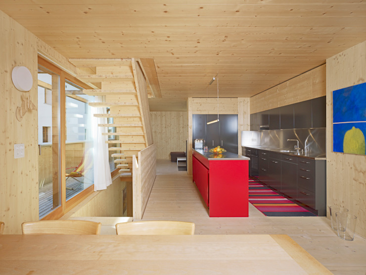 Haus Blarer Moderne Küchen von Blarer & Reber Architekten Modern
