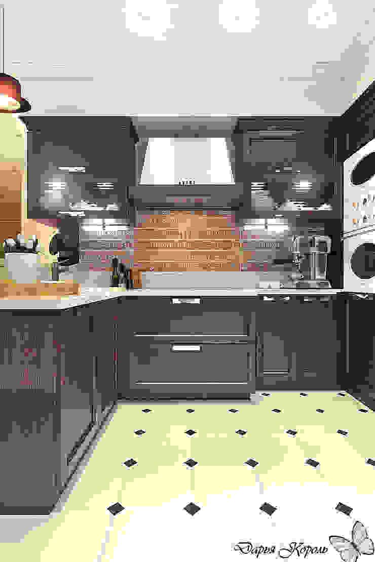 studio room Кухни в эклектичном стиле от Your royal design Эклектичный